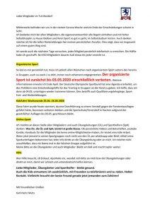 Corona vierte Woche – Infos im PDF